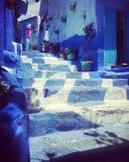 Chefchaouens blue streets