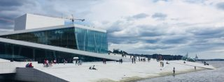 Visit the Oslo Opera House for the view