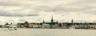 Relaxing in Stockholm