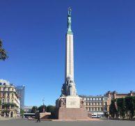 Riga the Freedom Monument