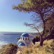 Walking on Ikaria