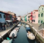 Spring colour in Burano