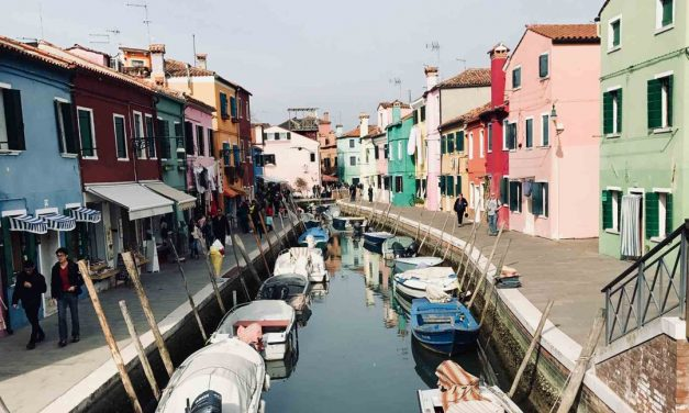 Visit Burano in Spring-A Travel Tale