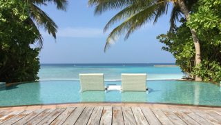 The Two Chairs, Veligandu, Maldives